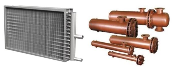 Affiliated Steam Coil Thrush Heat Exchanger